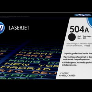 Toner HP 504a CE250A Negro