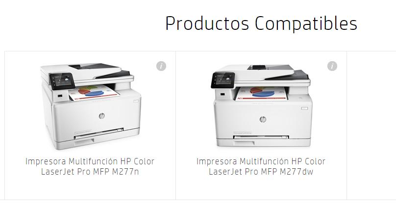 Impresora Multifunción HP Color LaserJet Pro MFP M277dw