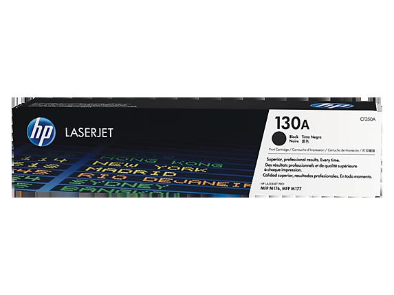 Cartucho de tóner original LaserJet HP 130A negro