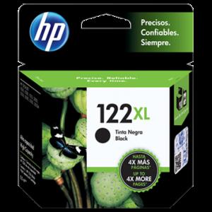 Tinta HP 122XL Negro CH563HL