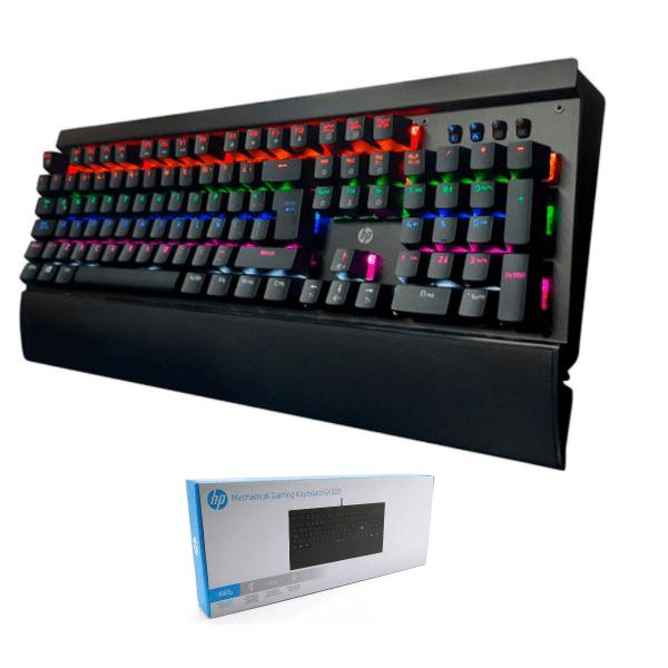 Teclado Mecanico Hp Gaming Gk500 CÓDigo: RGB iluminado codigo Gk500 Marca: Hp-Variosunidad De Medida Teclado Mecanico Hp Gaming Gk500